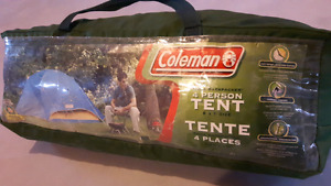 Camping tent coleman 4 person