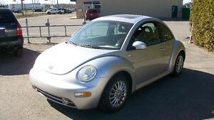 2001 Volkswagen New Beetle gls toit, aubaine!!! 2450.00$