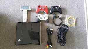 Xbox 360 w/ controllers, games and extras