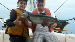 Salmon Fishing Charters up to 4 fisherman special 3 hrs $260