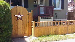 ★ SAVE $S ON UR DECK OR FENCE OR BOTH NOW!  CITY'S BEST DEAL! ★