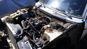 1990 240 Volvo engine and manual transmission