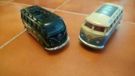 2 x Volks Wagon vans