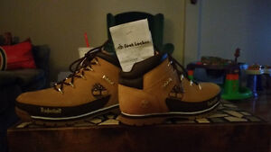 Timberlands size 8 and a half