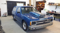 1986 Chevrolet drag blazer rolling chassis race ready