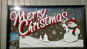 Window Art and Advertising / Hand Painted Signs Cambridge Kitchener Area image 1