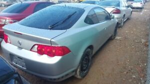 2002 ACURA RSX... JUST IN FOR PARTS AT PIC N SAVE! WELLAND