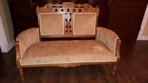 Antique Settee $180 -new lower price!!!