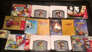 N64 and SNES Games Compete in Box