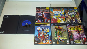 Jeux de gamecube, metroid, mario striker et ++