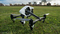 Drone Operator with Inspire 1 UAV, over 4 years of experience
