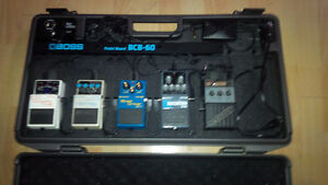 BOSS PEDAL BOARD BCB 60 &  OTHER STUFF