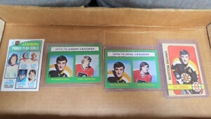 Phil Esposito NHL cards(4)