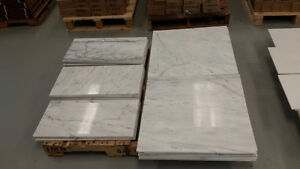 CARRARA MARBLE AND TILE - 12x12 & 12x24 & 24x24 - %50 OFF