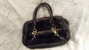 Authentic BCBG Fur Handbag