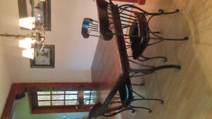Farmer Table and Chairs