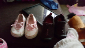 Toddler girls size 5 shoes