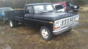 1977 ford flatbed dually