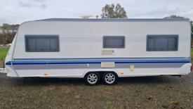 Hobby 650 caravan