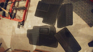 Rubber floor mats extended cab truck