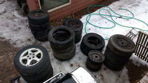 Various Tires and Rims, Please Contact for More Details
