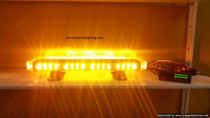 LED construction security, tow truck warning strobe light