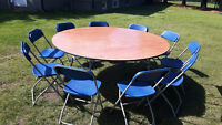 Tables,Chairs and Tents for Rent!