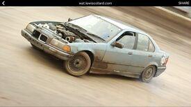 BMW drift car