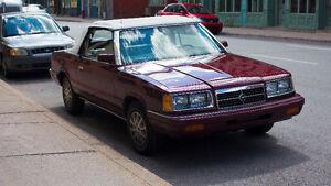 1986 Dodge Autre Cabriolet