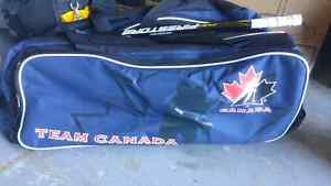 Youth or Jr hockey bag London Ontario image 1
