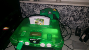 N64 + 2 Perfect Controllers and more