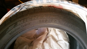 Two Michelin Tires - Michelin Radial XSE 255 / 45 R17