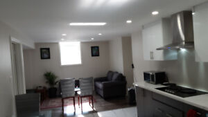 Furnished basement.. read adv for details Go Station Bramp