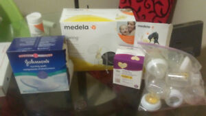 Medella Breast pump with everything els you need to breastfeed