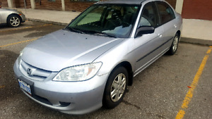 2004 Honda Civic DX- Low Kms!!! - $2000 obo
