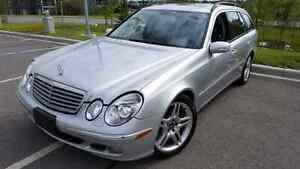 2005 Mercedes Benz E500 Wagon only 135000km RARE MINT!