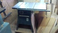 """ROCKWELL/BEAVER 10"""" TABLE SAW"""