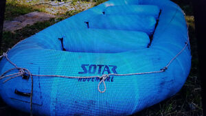 Whitewater Raft 16 foot Sotar self baiing