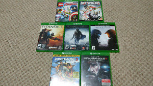 Xbox one games for sale/trade!!