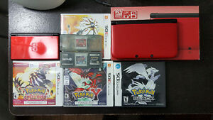 DS and 3DSXL with PKM games