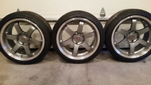 "18"" VOLK  Rep Wheels for sale"
