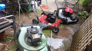 Crafts man self drive and others lawnmowers