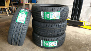 "New 225/45R18 all season tires, $440 for 4, speed rating ""W"""