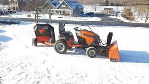Select Husqvarna Lawn Tractors in stock, beat the spring rush!