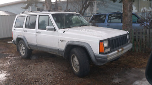 White Jeep Cherokee For Sale