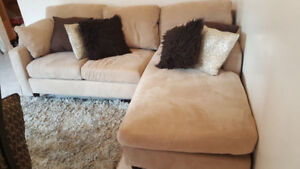 Two sided Good Quality L shape sectional couch for sale $250