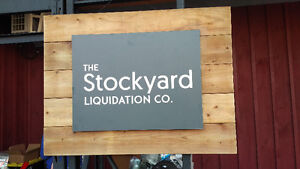 The Stockyard Liquidation Co. - TOOL BLOWOUT SALE