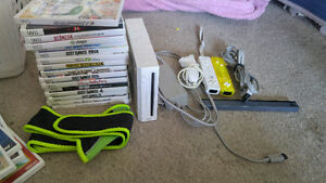 Wii Console & 16 Games