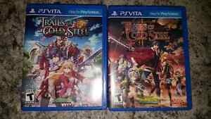 Legend of Heroes: Trails of Cold Steel 1 & 2 for Vita