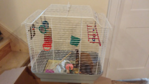 Bird Cage - excellent condition with all accessories and toys